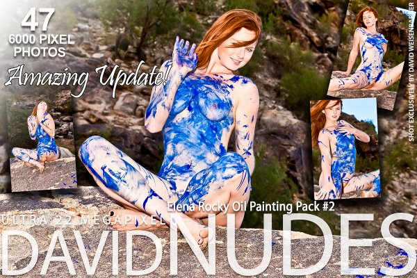 Lrnvid-Nuded 2012-05-09 Elena - Rocky Oil Painting Pack 2 04210