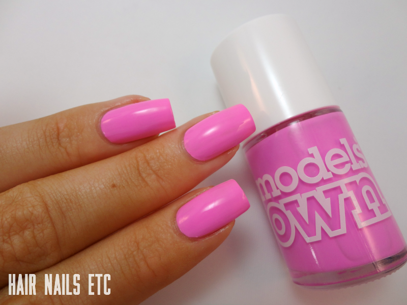 Malibu Pink - Models Own - Polish for Tans 2 Collection Summer 2015 - Swatches and Review - www.hairnailsetc.com