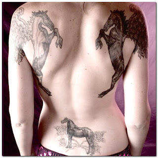 Horse Tattoo Design Photo Gallery - Horse Tattoo Ideas
