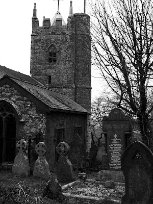 St Denys Church at St Dennis Cornwall