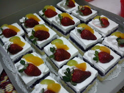 Fruits Slice Cakes