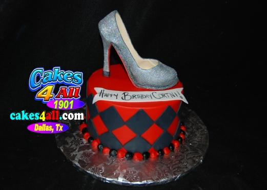 Cakes 4 All In Dallas Custom High Heels Edible Cakes Dallas