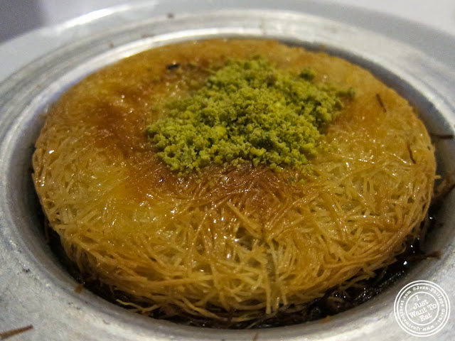 image of Kunefe at Roka Turkish Cuisine in Kew Gardens, NY
