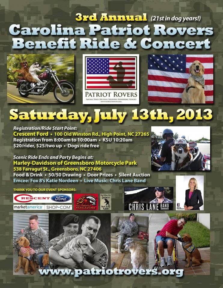 ghost riders leather carolina patriot rovers benefit ride. Black Bedroom Furniture Sets. Home Design Ideas