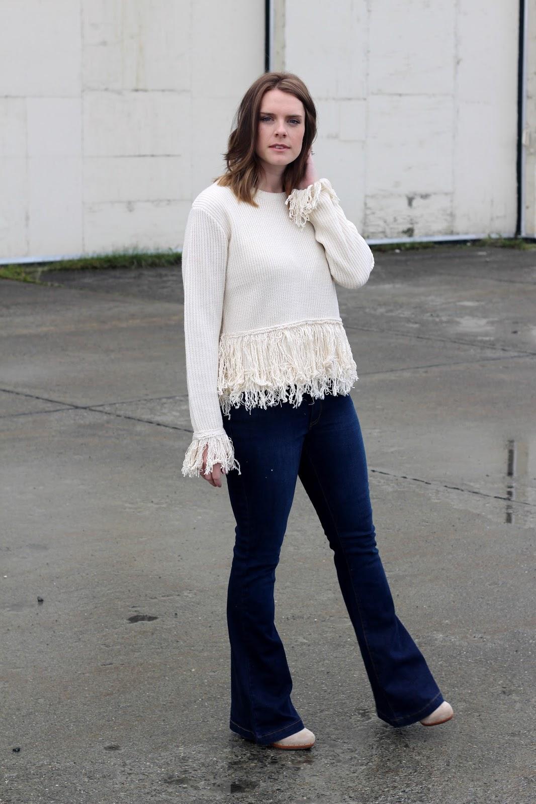 fringe sweater shopbop
