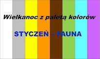 Wielkanoc z paletą kolorów