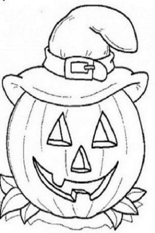Banco de imagenes y fotos gratis dibujos de halloween for Zucca di halloween disegno