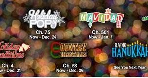 SIRIUS XM Christmas Music Channel List - 2013