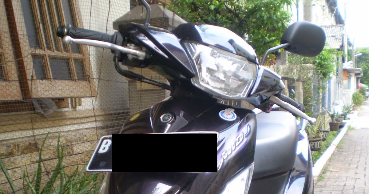 Maintenance Yamaha Mio J 2012 Black And Silver