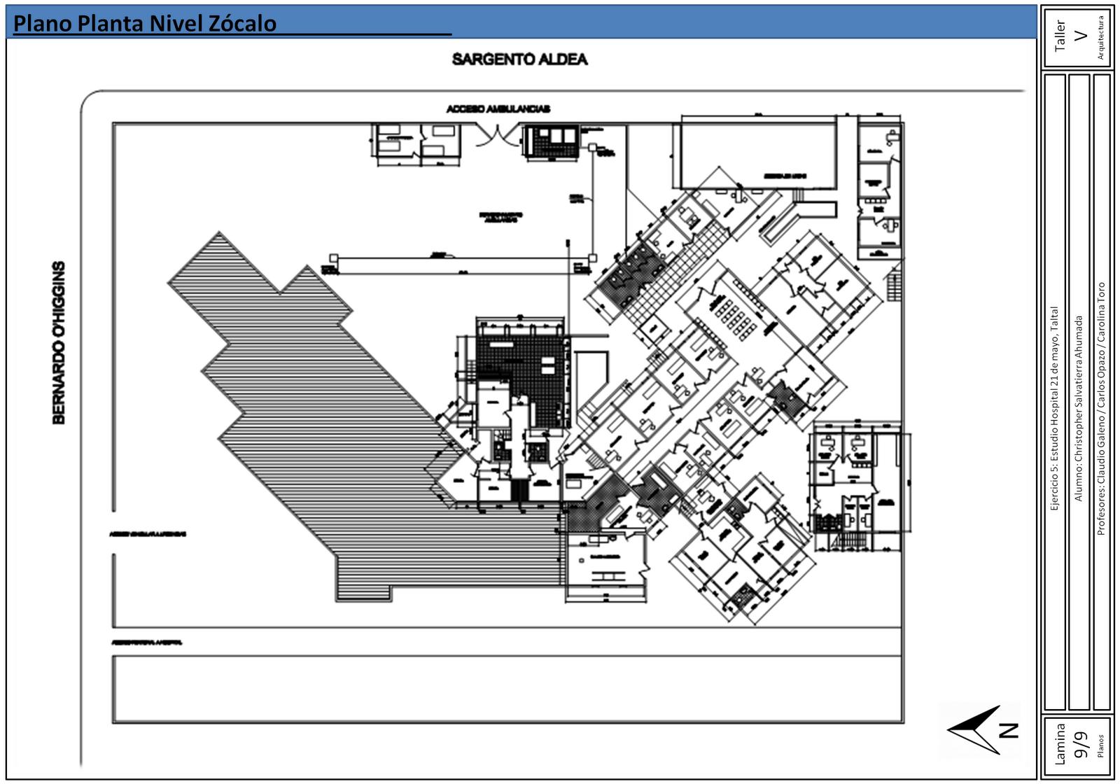 Taller de arquitectura 5 lenguaje 1er semestre de 2012 for Arquitectura 5 de mayo plan de estudios