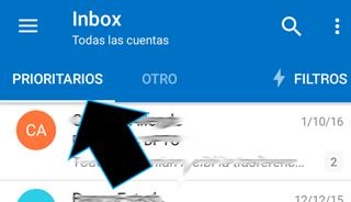 Organizar Correos Prioritarios en Outlook Correo Movil