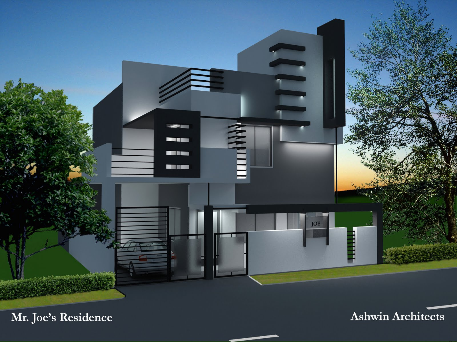 Ashwin architects for Home design engineer