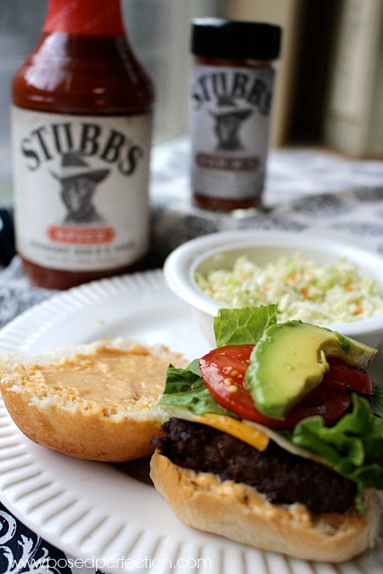 These Beef & Pork Sliders with Spicy Aioli Sauce pack a punch in a small package! Fun way to serve a crowd!