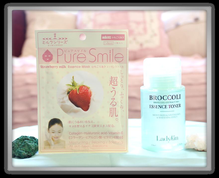 겟잇뷰티박스 by 미미박스 memebox beautybox Special #20 Superfood unboxing review box kadykin broccalo essence toner pure smile strawberry mask