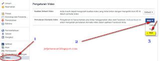 Mematikan video yang berjalan otomatis, pengaturan facebook agar video tidak berjalan otomatis