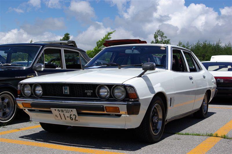 Mitsubishi Galant Sigma stary japoński samochód klasyk oldschool