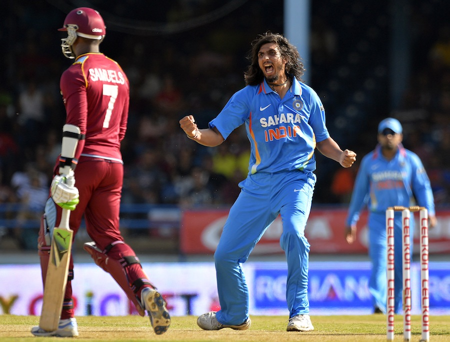 Ishant-Sharma-West-Indies-vs-India-Tri-Series-2013