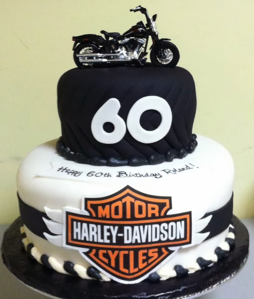 Th Birthday Harley Davidson Cakes