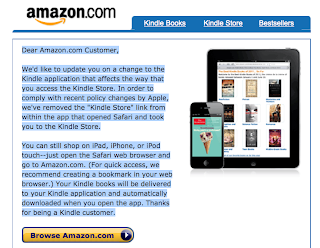 "In the Battle over eBook Apps on the iPad, Apple Says ""My Way or the Highway;"" Kindle Replies ""Whatever, Dude"""