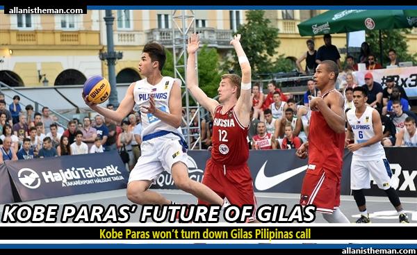 Kobe Paras won't turn down Gilas Pilipinas call
