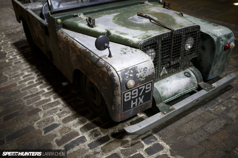 M E M O Land Rover Defender Convertible Lowrider Rat Rod