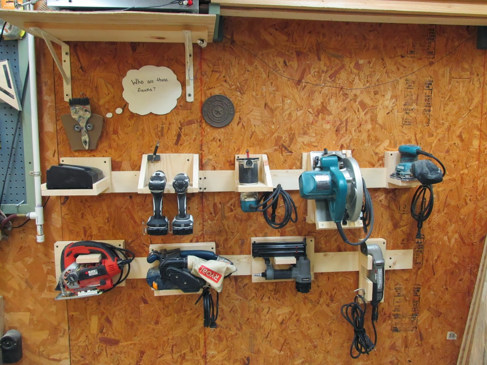 Tool Storage Ideas Diy Power Tool Storage Diy
