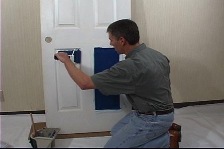 Como pintar una puerta bricolaje for Como pintar una puerta