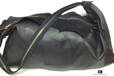 Barbara Campbell Leather Handbags:: one-of-a-kind and handmade in her fashion accessories Brooklyn studio