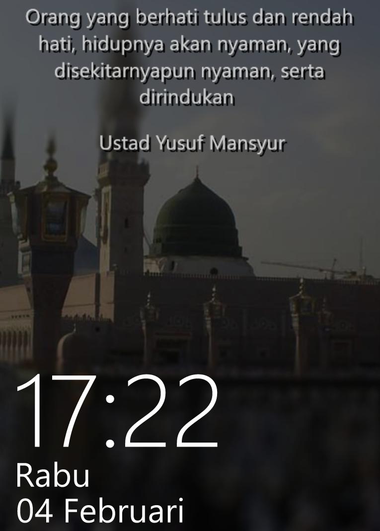 Kata-kata Mutiara Penuh Hikmah by Ust. Yusuf Mansyur