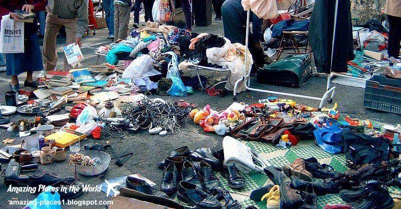 Parisian Market Marche aux Puces, interesting markets