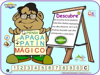 http://www.gobiernodecanarias.org/educacion/3/WebC/eltanque/proyectoNEWTON/sumaletras/sumaletras_p.html