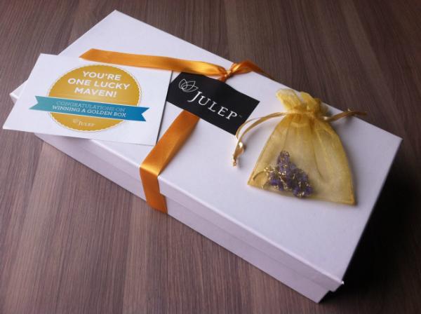 Julep Maven Bonus Golden Box - December 2012 Review - Oprah's Favorite Julep Maven Polishes!