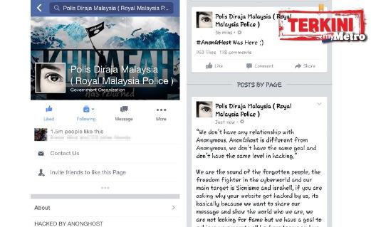 Facebook PDRM Digodam