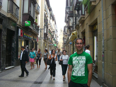 Old town of San Sebastian