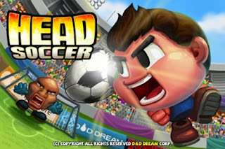 Screenshots of the Head Soccer for Android tablet, phone.