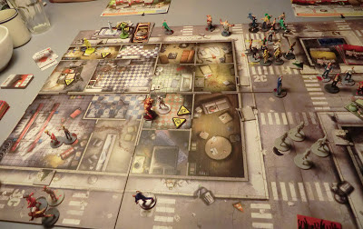 Zombicide! gameplay using cars