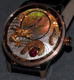 Montre Jaquet Droz Petite Heure Minute Relief Dragon référence J005023271