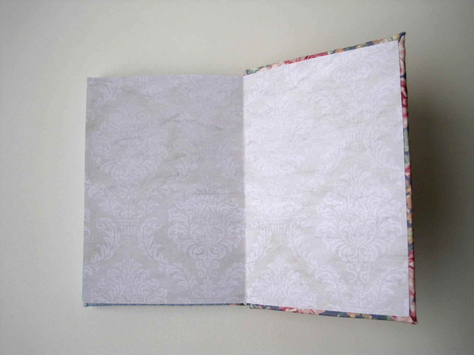 hand made notebook блокнот ручной работы с нуля форзац