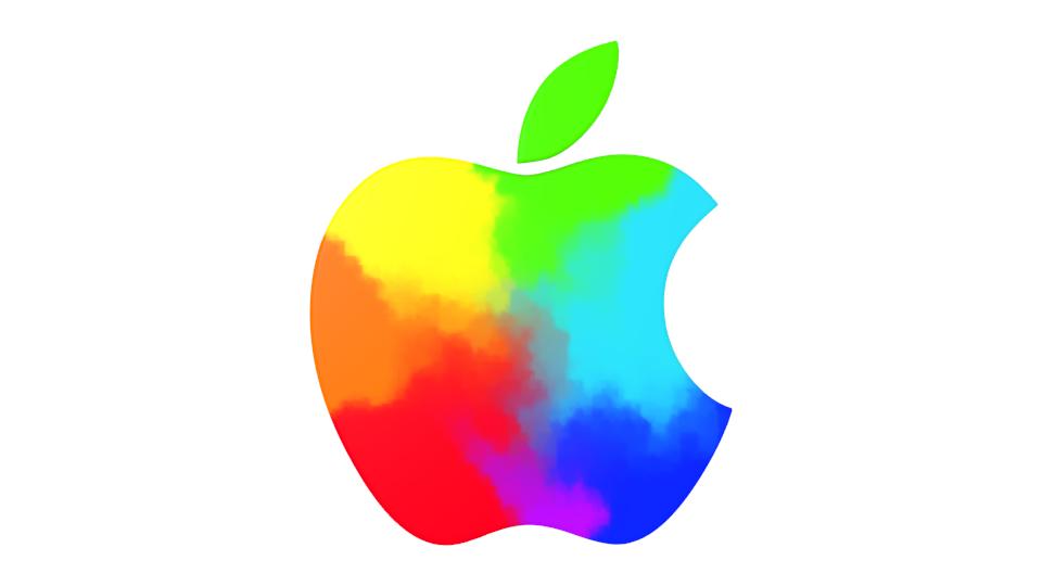 colorful apple logos. Colorful Apple Logos R