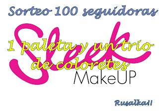Sorteo en el blog Rusalka make up