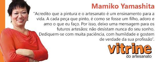 ARTESÃ MAMIKO  YAMASHITA