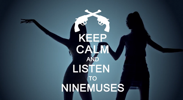 """Nine Muses want you to keep calm and listen to """"Gun"""" MV teaser"""