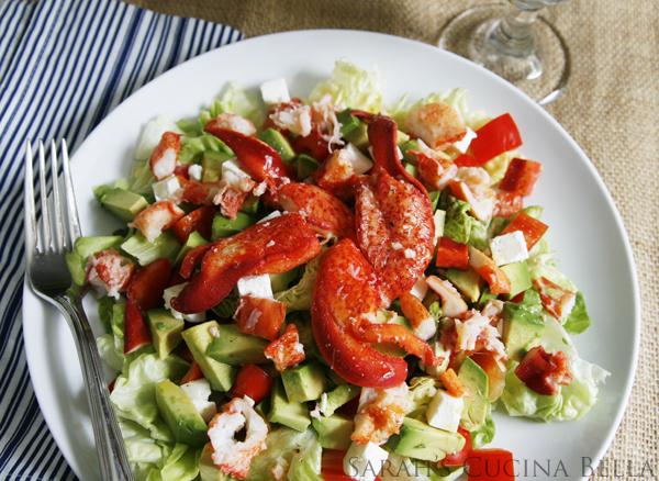 lobster salad, lobster recipes