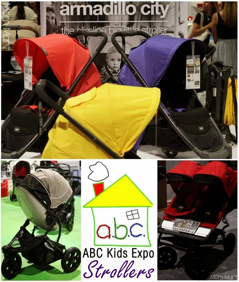 #ABCKids14 Expo Strollers