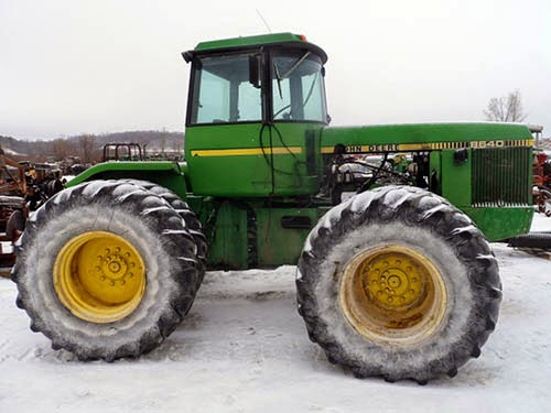 John Deere 8640 tractor parts