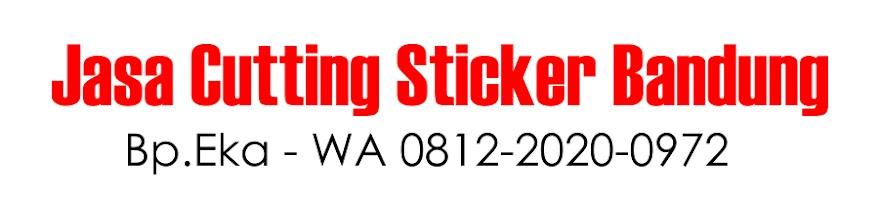 Jasa Sticker Cutting Nama Murah | WA 0812-2020-0972