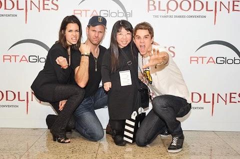 """The Vampire Diaries: Nuevas Fotos muy """"Comicas"""" de  Paul Wesley, Torrey, Matt y Nate con  fans en Brasil"""
