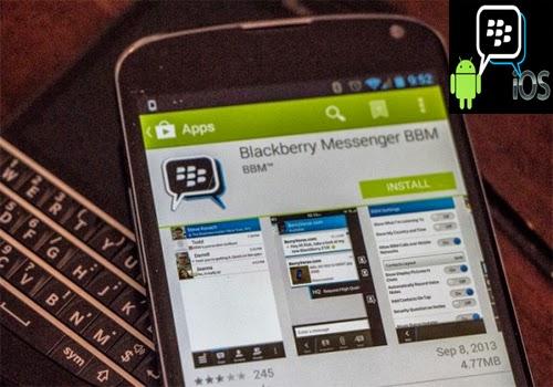 Cara Mengaktifkan Aplikasi BBM di Android