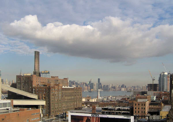 Cloud Hammock - From the Williamsburg Bridge.