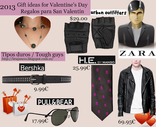 Regalos para los tipos duros/ Gift Ideas for tough guys biker Urban outfitters, pull&bear, pull & bear, zara, bershka, hebymango he by mango he.by.mango, guantes sin dedos piel negros, cinturón negro tachas doble hilera, corbata negra calaveras lilas moradas, cazadora perfecta polipiel pu, gafas sol aviador, Black leather fingerless gloves, black belt double row studs, skulls black tie purple lilacs, pu synthetic leather perfect jacket, aviator sunglasses